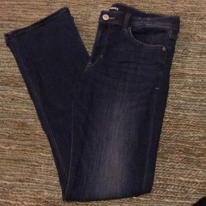 Express Barely boot mid rise 10 or stretch jeans